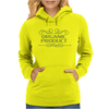 cannabis organic product emblem vintage Womens Hoodie