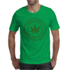 cannabis organic product logo stamp Mens T-Shirt