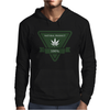 cannabis organic product logo tringle Mens Hoodie