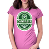 Cannabis Womens Fitted T-Shirt