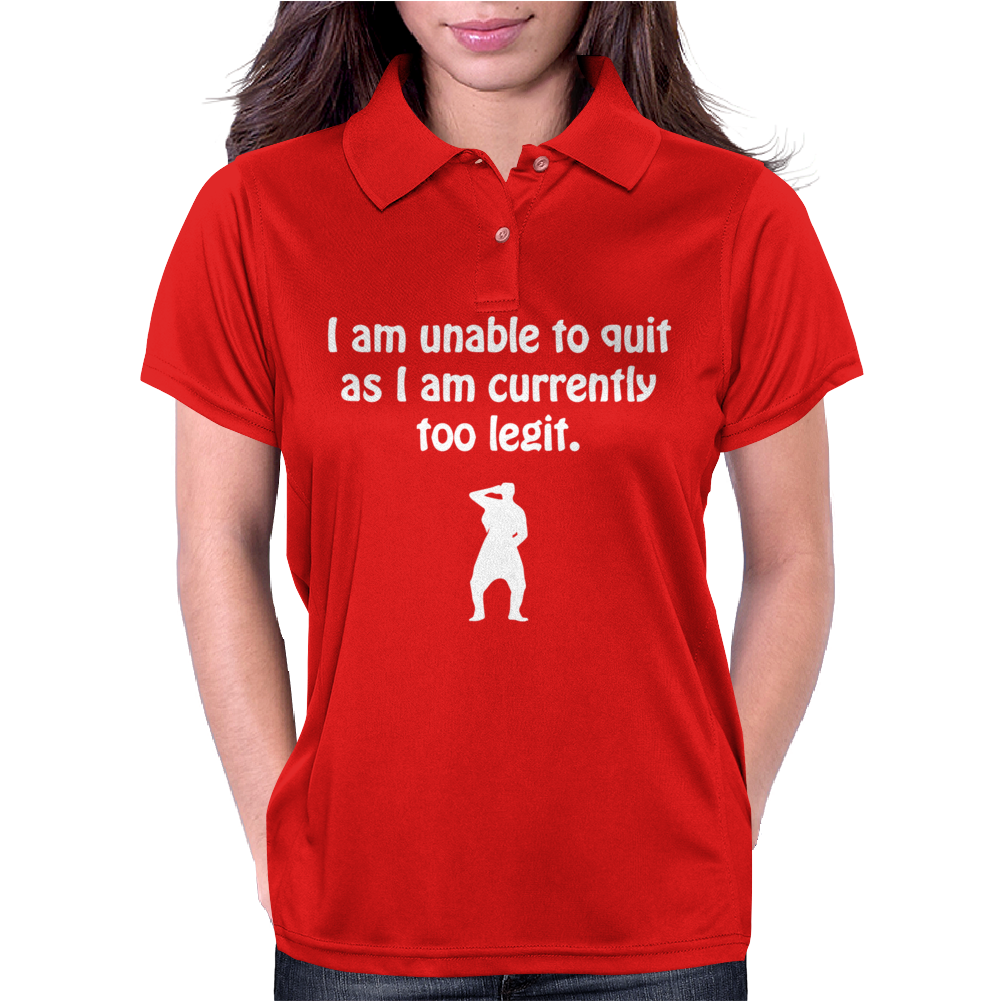 Can't Quit Womens Polo