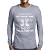Can't Scare A Soldier Mens Long Sleeve T-Shirt