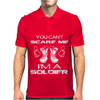 Can't Scare A Soldier Mens Polo