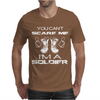 Can't Scare A Soldier Mens T-Shirt