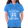Can't Scare A Soldier Womens Polo