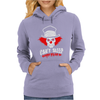 Can't Sleep Clowns Will Eat Me Womens Hoodie