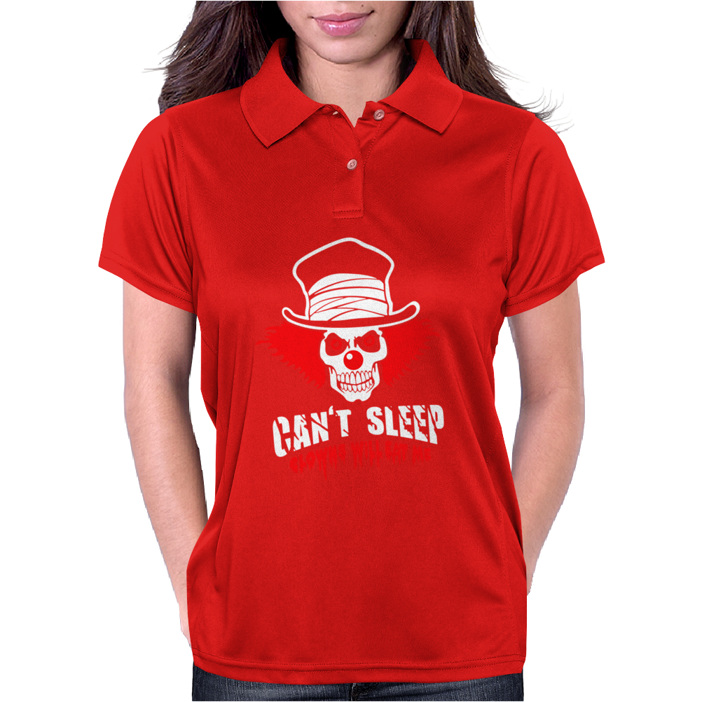Can't Sleep Clowns Will Eat Me Womens Polo