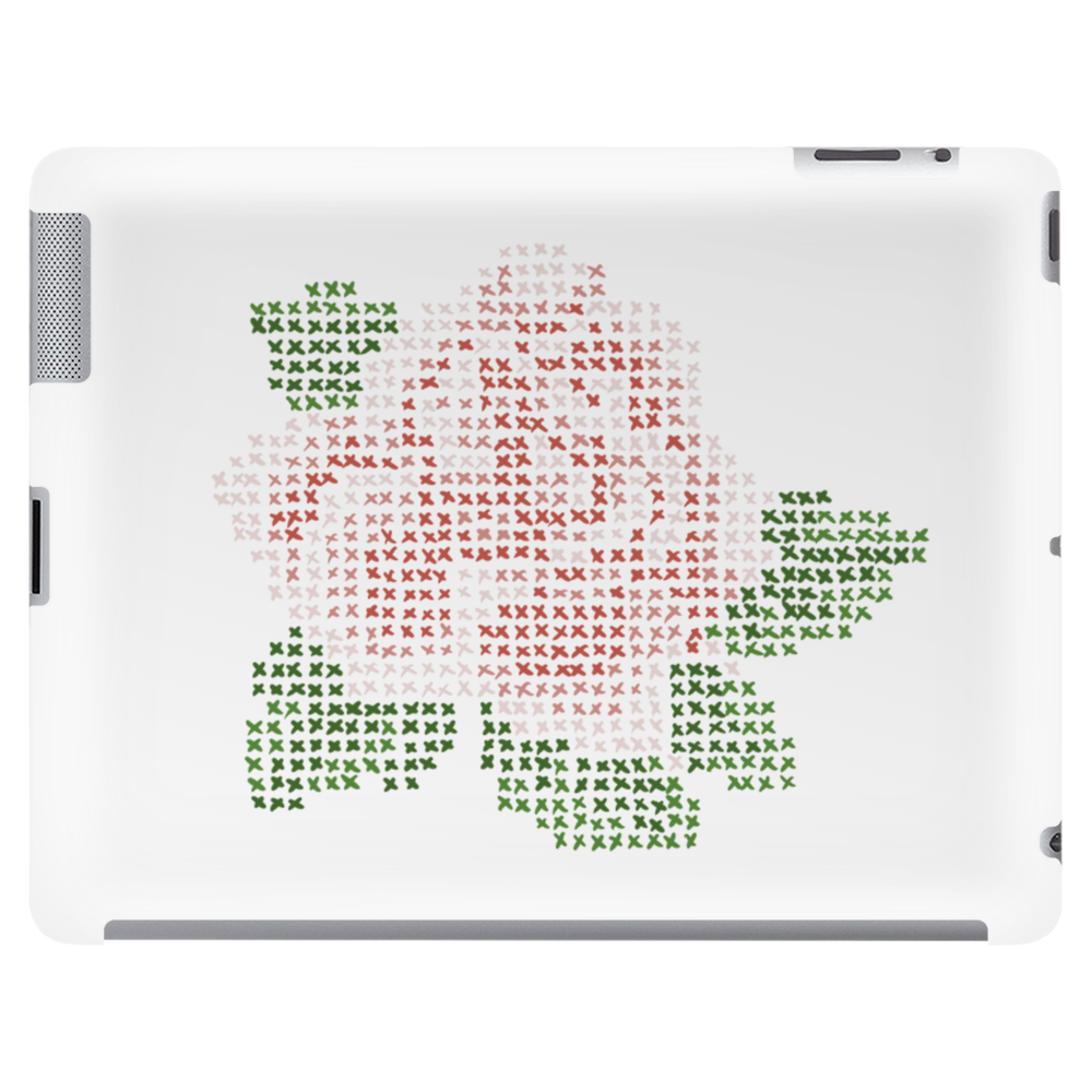 Canvas Rose Tablet (horizontal)