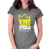 Capital STEEZ KING STEELO Womens Fitted T-Shirt