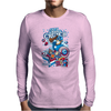 Cap'n Ameri-Crunch Mens Long Sleeve T-Shirt