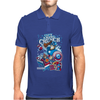 Cap'n Ameri-Crunch Mens Polo