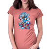 Cap'n Ameri-Crunch Womens Fitted T-Shirt