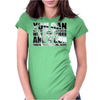CAPONE QUOTE Womens Fitted T-Shirt