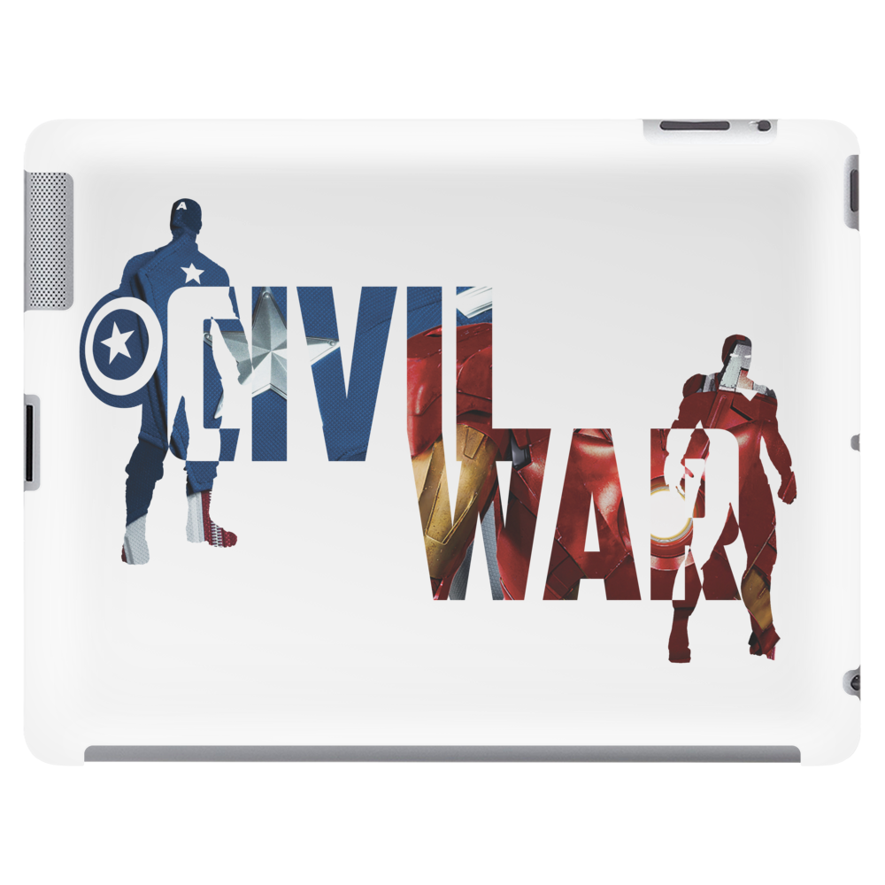Captain America - Civil War - Colored Tablet