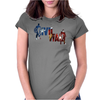 Captain America - Civil War - Colored Womens Fitted T-Shirt