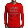 Captain America Civil War Mens Long Sleeve T-Shirt