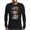 Captain America Civil War Pick Your Side Mens Long Sleeve T-Shirt