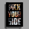 Captain America Civil War Pick Your Side Poster Print (Portrait)
