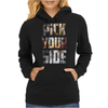 Captain America Civil War Pick Your Side Womens Hoodie