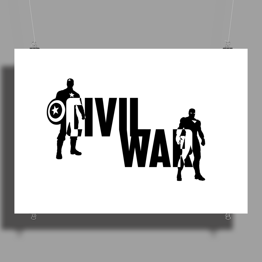 Captain America - Civil War Poster Print (Landscape)