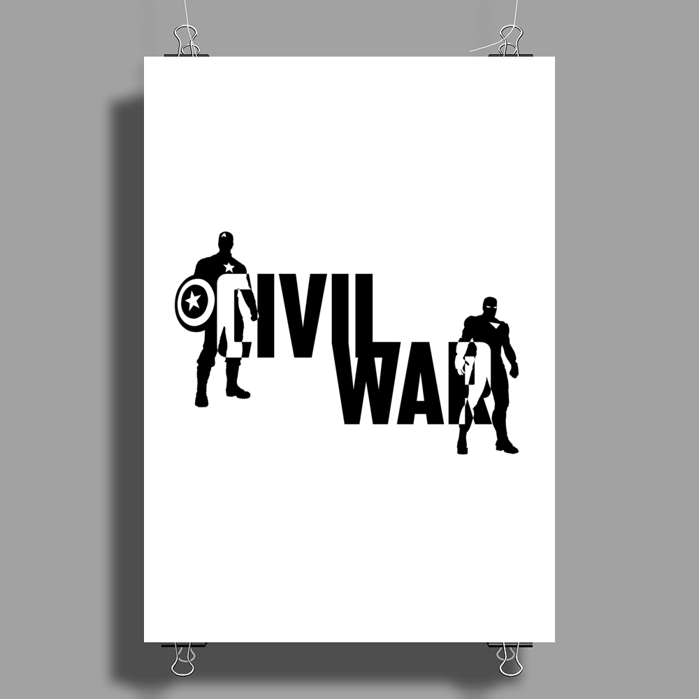 Captain America - Civil War Poster Print (Portrait)