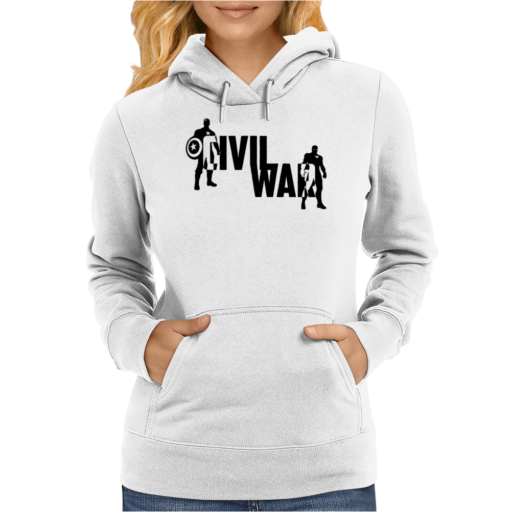 Captain America - Civil War Womens Hoodie
