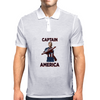 Captain America Clint Dempsey US Men's National Soccer Team Mens Polo