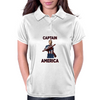 Captain America Clint Dempsey US Men's National Soccer Team Womens Polo