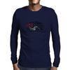 Captain America Motorcycle Mens Long Sleeve T-Shirt