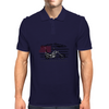 Captain America Motorcycle Mens Polo