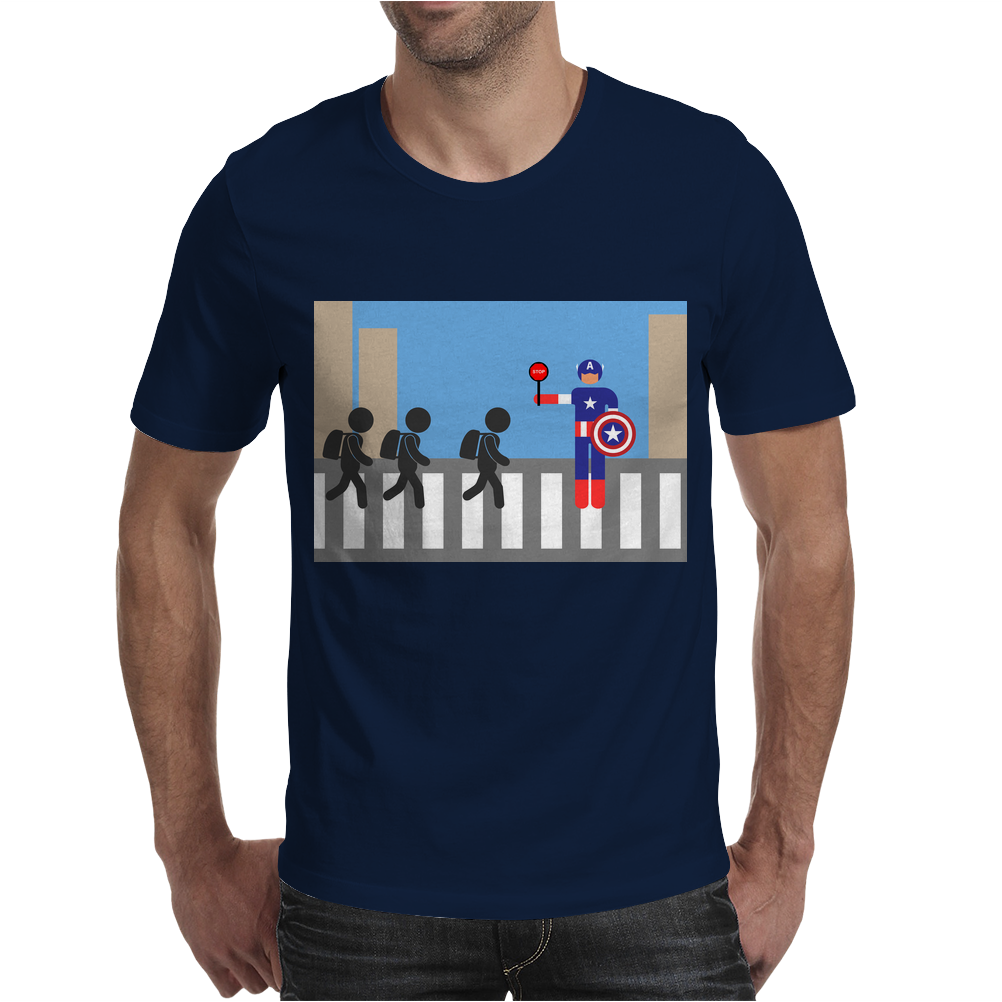 Captain America picto Mens T-Shirt