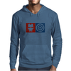Captain America vs Ironman Mens Hoodie