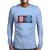 Captain America vs Ironman Mens Long Sleeve T-Shirt