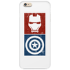 Captain America vs Ironman Phone Case