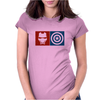 Captain America vs Ironman Womens Fitted T-Shirt