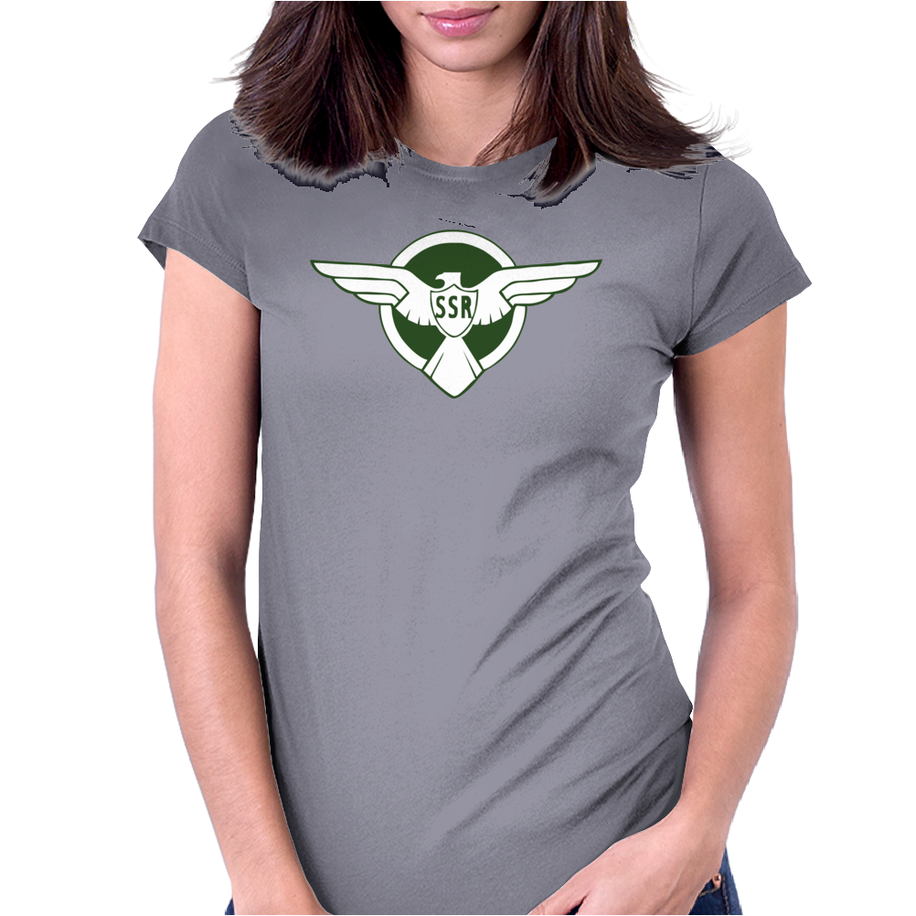 Captain AmericaThe Winter Soldier Movie Steve Rogers 's SSR Traning Womens Fitted T-Shirt