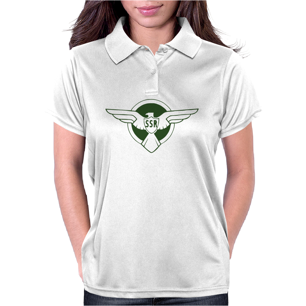 Captain AmericaThe Winter Soldier Movie Steve Rogers 's SSR Traning Womens Polo