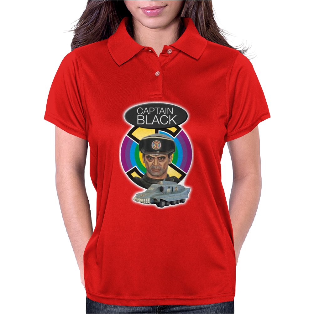 Captain Black, Ideal Birthday Present or Gift Womens Polo