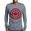 Captain Canada Mens Long Sleeve T-Shirt