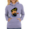Captain Haddock Tintin Cartoon Comic Womens Hoodie