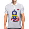 Captain Minion Mens Polo
