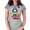 Captain Minion Womens Fitted T-Shirt