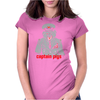 Captain pigs Womens Fitted T-Shirt