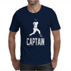 Captain Pinstripes Mens T-Shirt