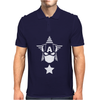 Captain Rogers Minimalist Mens Polo