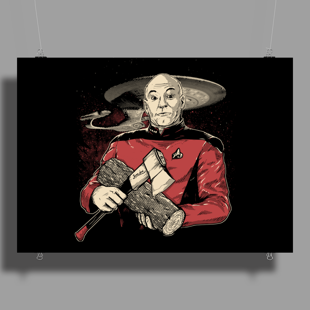 Captain's Log Poster Print (Landscape)