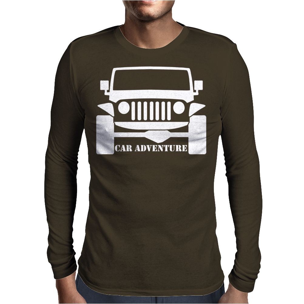 Car Adventure Mens Long Sleeve T-Shirt