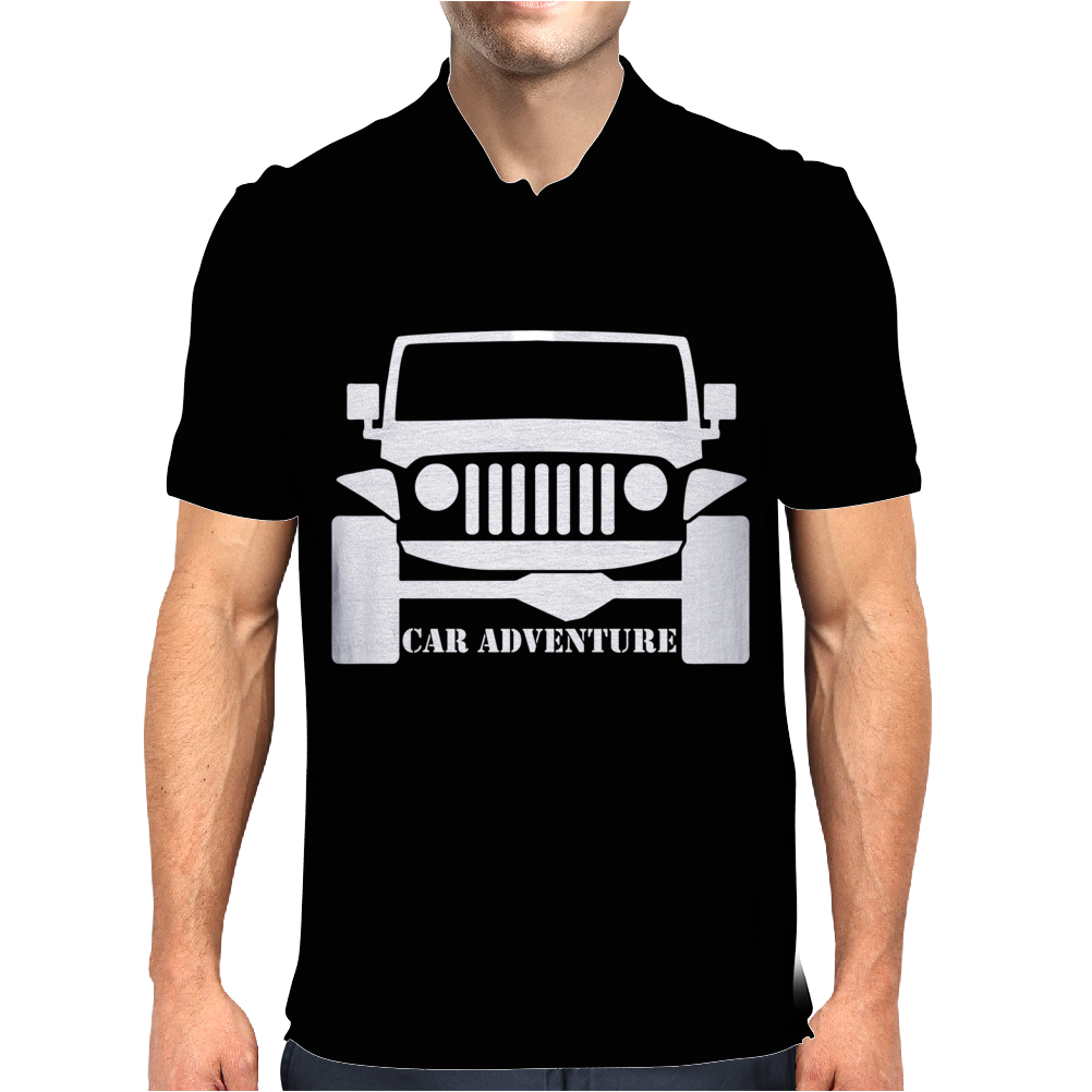 Car Adventure Mens Polo