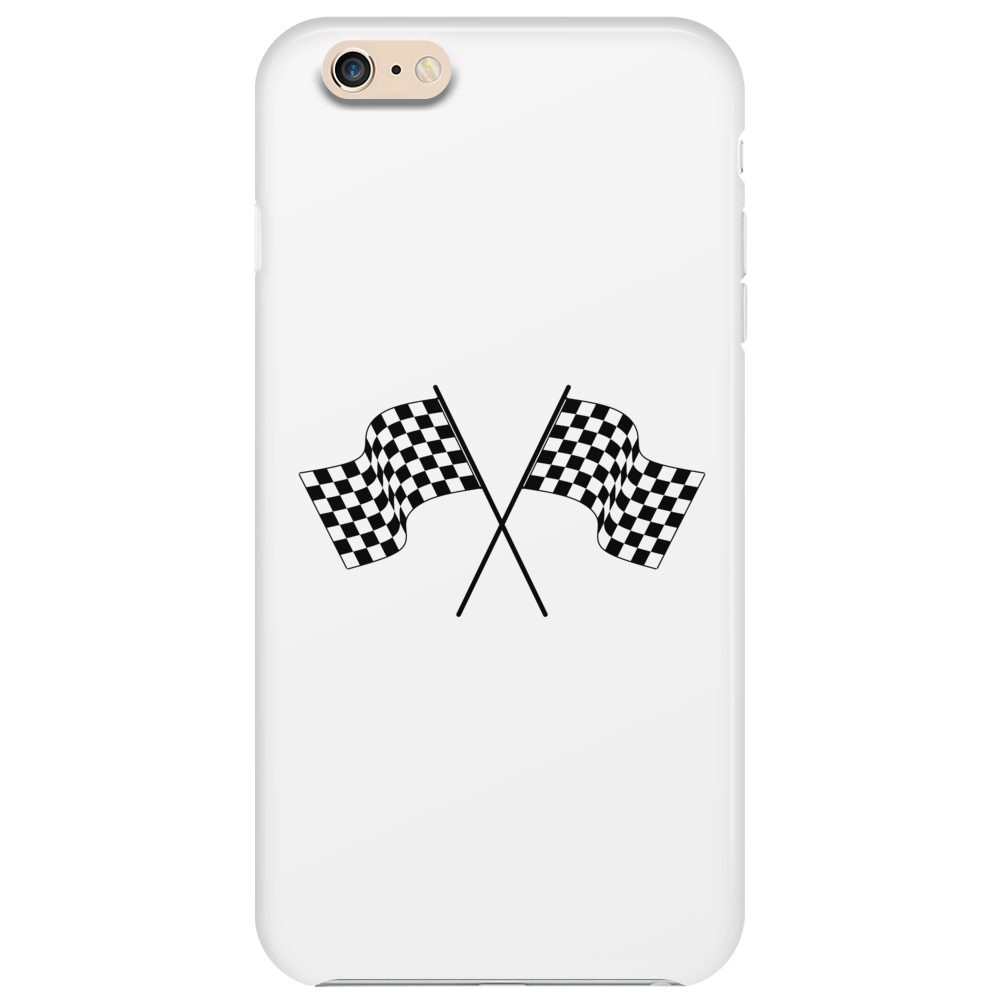 car racing flags Phone Case