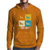 Cardigan Welsh Corgi Dog Art Mens Hoodie